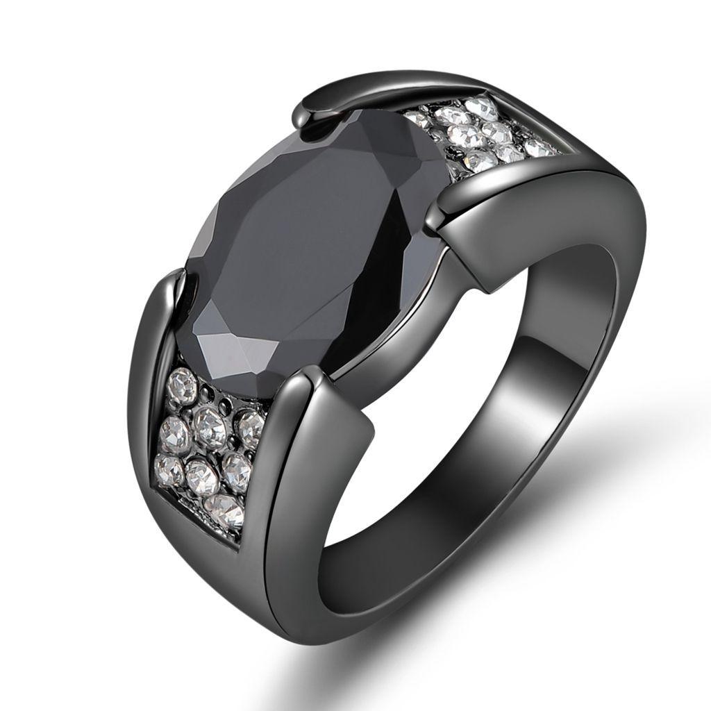 Bridal & Wedding Party Jewelry White Sapphire White Rhodium Plated Fashion Size 8 Engagement & Wedding