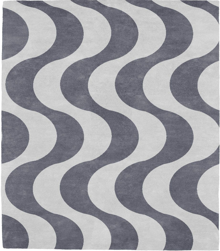 Marx Burle Designer 96B Pattern Rug from the Bauhaus I collection at Modern Area Rugs