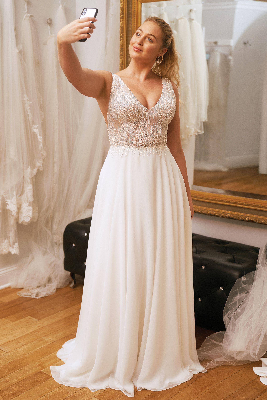 17++ Princess cut wedding dress plus size ideas