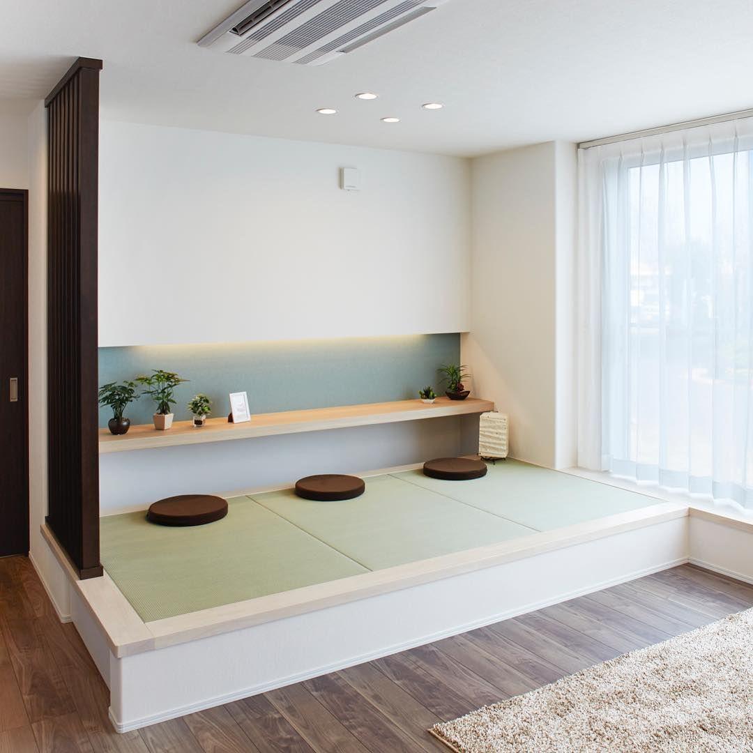畳コーナー 和室 たった3帖だけどくつろぎのスペース リビングダイニング 畳 小上がり 畳 リビング 畳 小上がり