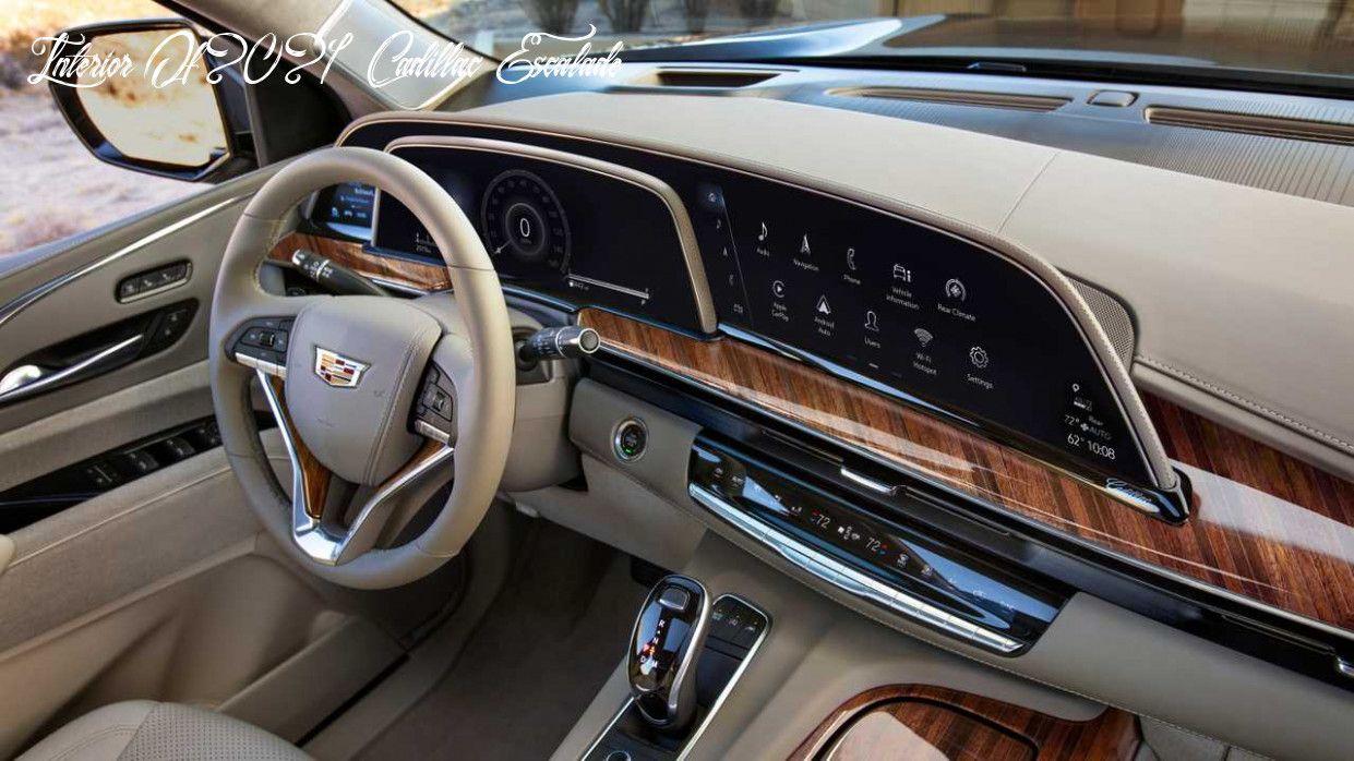29+ Cadillac escalade 2021 interior ideas