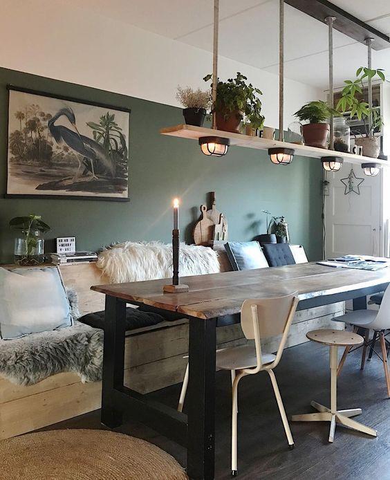 Esszimmer Pflanzen Dekoration Idee, #dekoration #esszimmer #pflanzen #diningroomdecor