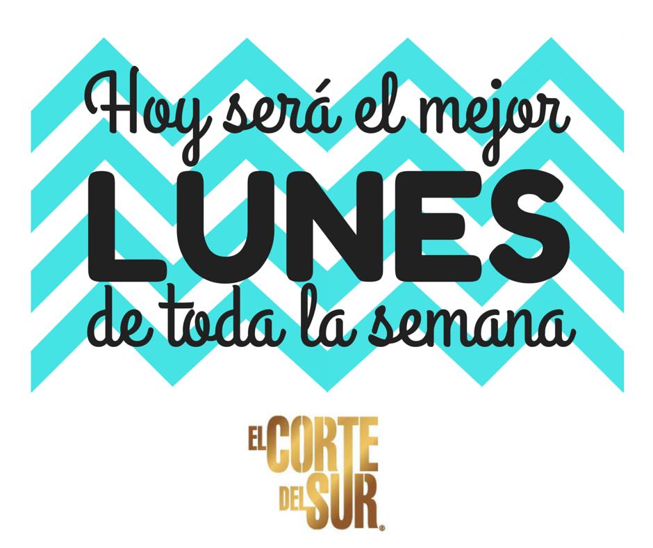 #FelizLunes  Vívelo, con #ElCorteDelSurPeluqueria  ¡Tenemos Tiempo Para Tí!