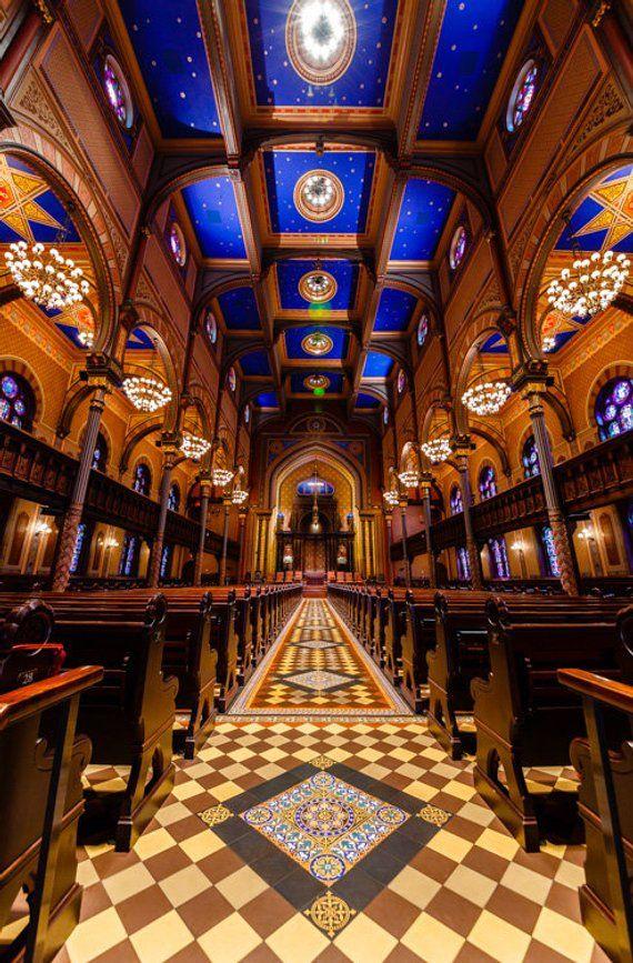 Central Synagogue Interior, Historic New York City Jewish