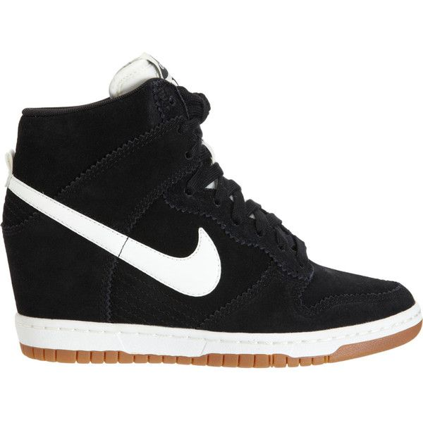 Nike Dunk Sky Hi Found On Polyvore Featuring Polyvore Fashion