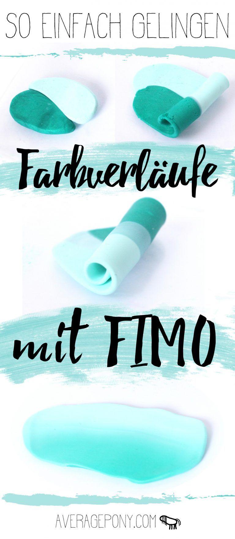 Photo of So einfach gelingen Farbverläufe mit FIMO