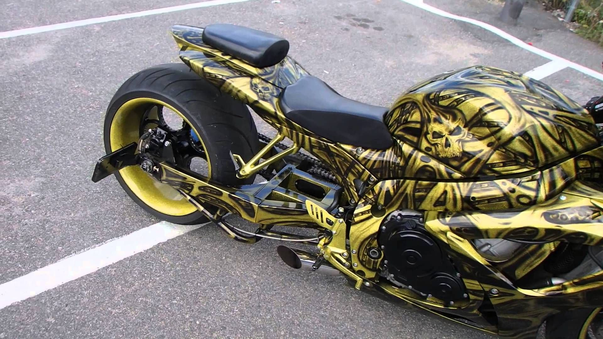 Motorcycle Wheel Painting Cost