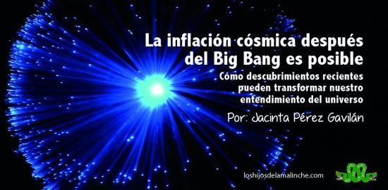 Resultado de imagen para BIG BANG INFLACION