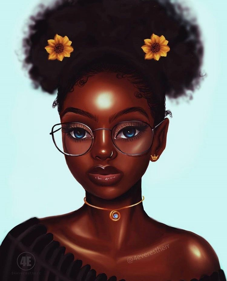 Found on bing from black girl art