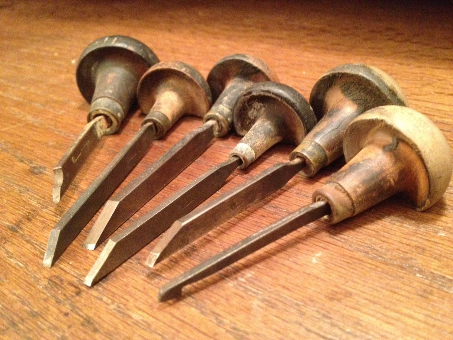 Antique Engravers Tool Set