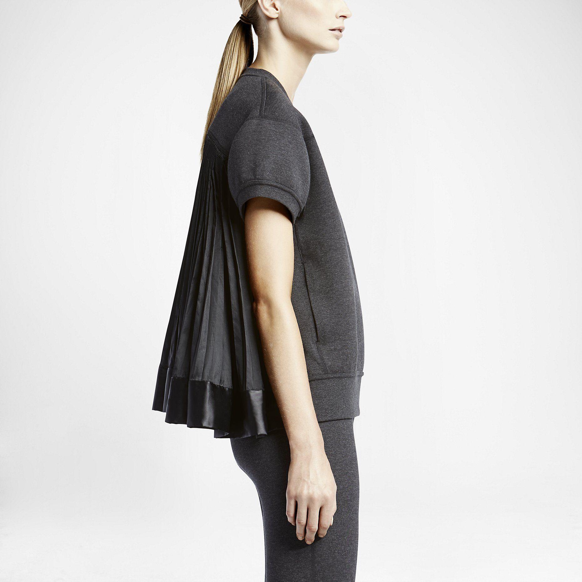 NikeLab x sacai Tech Fleece ShortSleeve Crew Women's