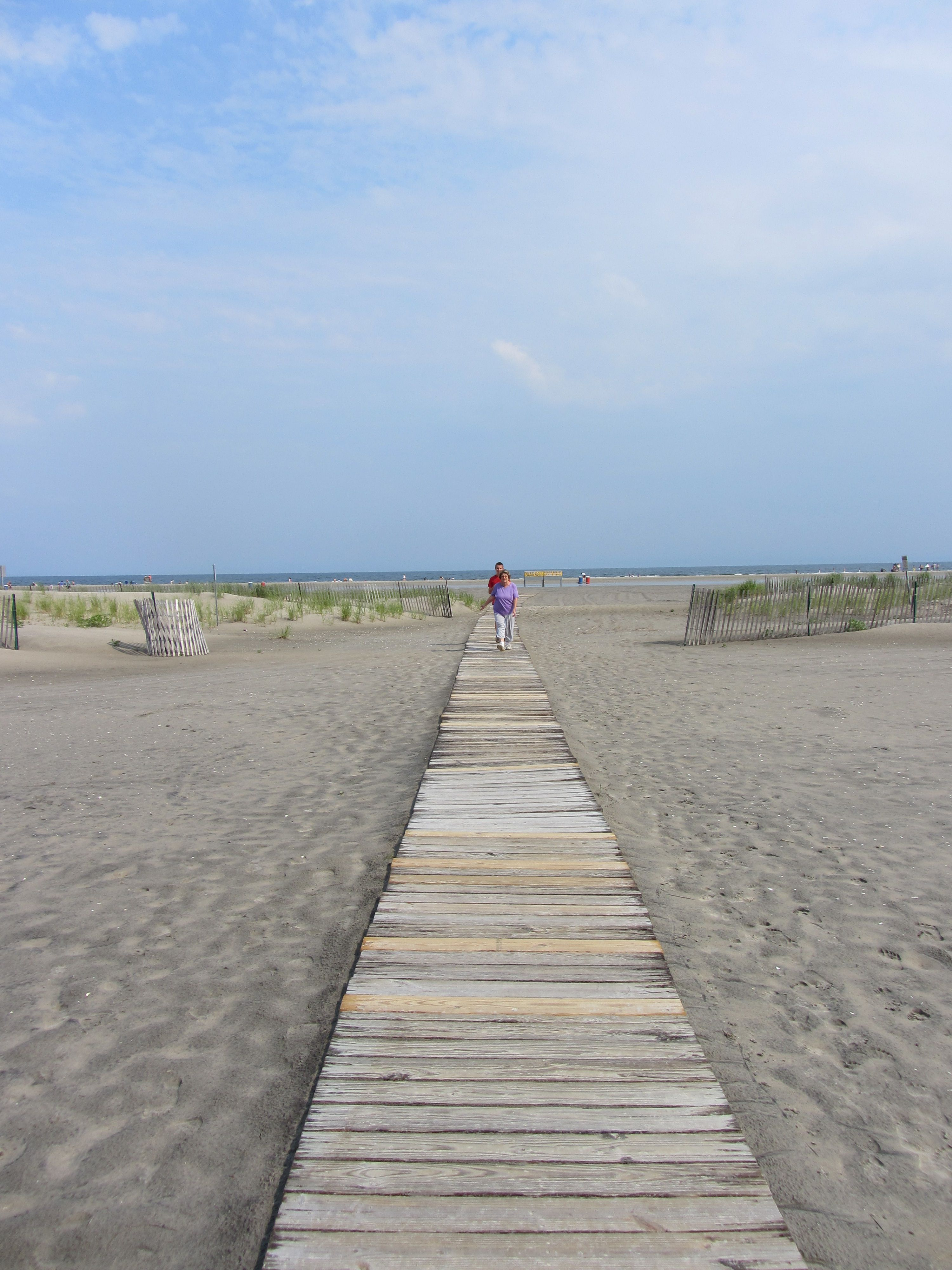 Wildwood Crest Beach Must Have Made That Long Walk Hundreds Of Times So Worth It