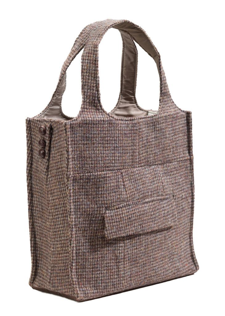 The Power Suit - A Tote Made from a Sport Coat