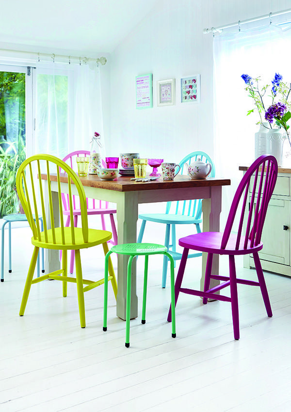Wordpress Error Painted Dining Chairs Bright Dining Rooms Bright Colored Furniture