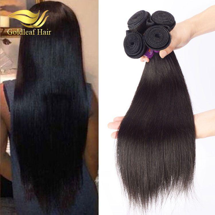 Cheap 100 Human Hair Extension Straight Hair With Full Cuticle