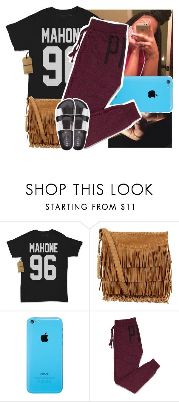 """""""Been at the mall all day"""" by naebreezy ❤ liked on Polyvore featuring Polo Ralph Lauren and Victoria's Secret PINK"""