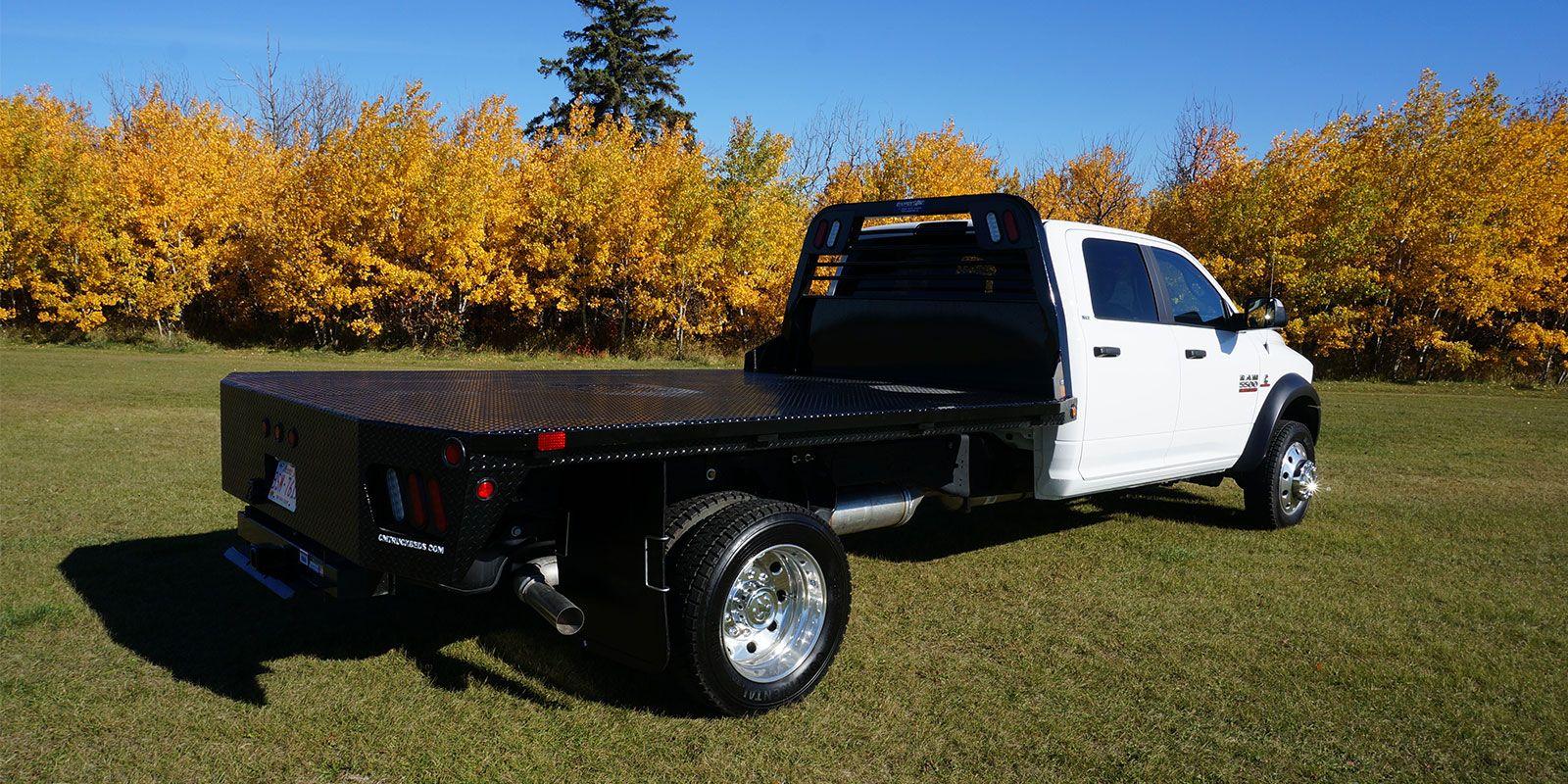 Flat Deck Truck Beds Decked truck bed, Custom truck beds