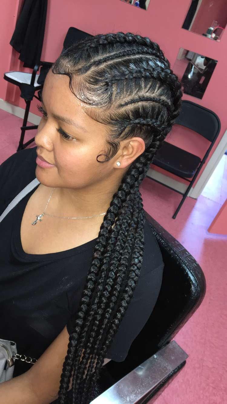 Pin by Aaliyah Whiting on Black girl braids  Pinterest  Black