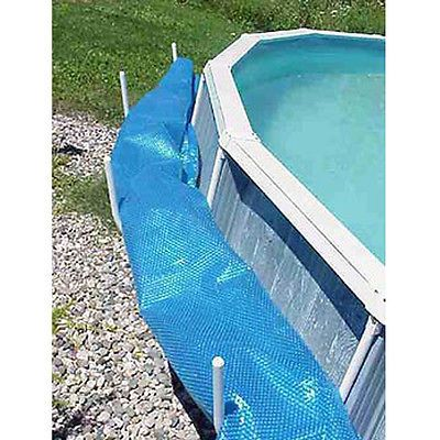 Aboveground Swimming Pool Solar Blanket Cover Saddle Set
