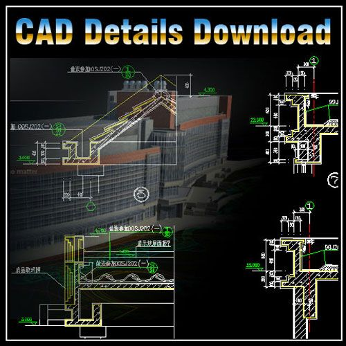 Architecture Details】★-CAD Library