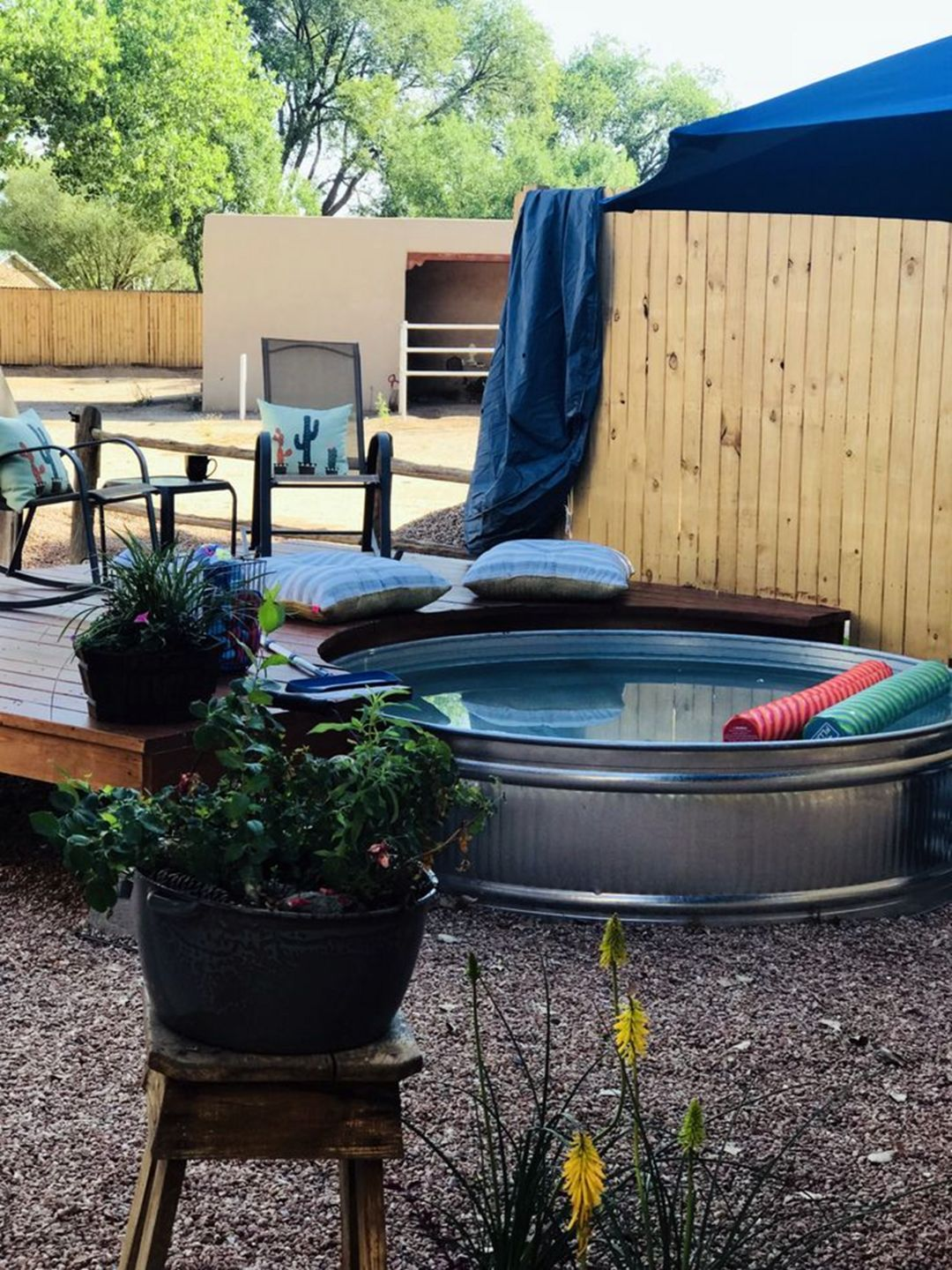 Comfortable Summer With 15 Cheap Stock Tank Pool Ideas In 2020