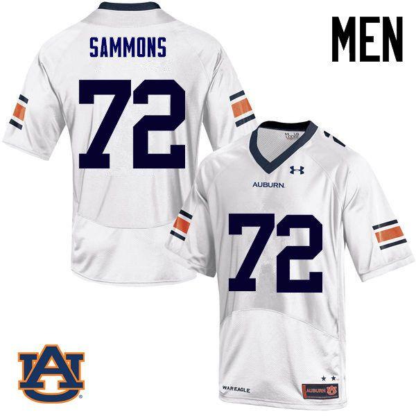 sports shoes ef81b db754 Men Auburn Tigers #72 Prince Micheal Sammons College ...