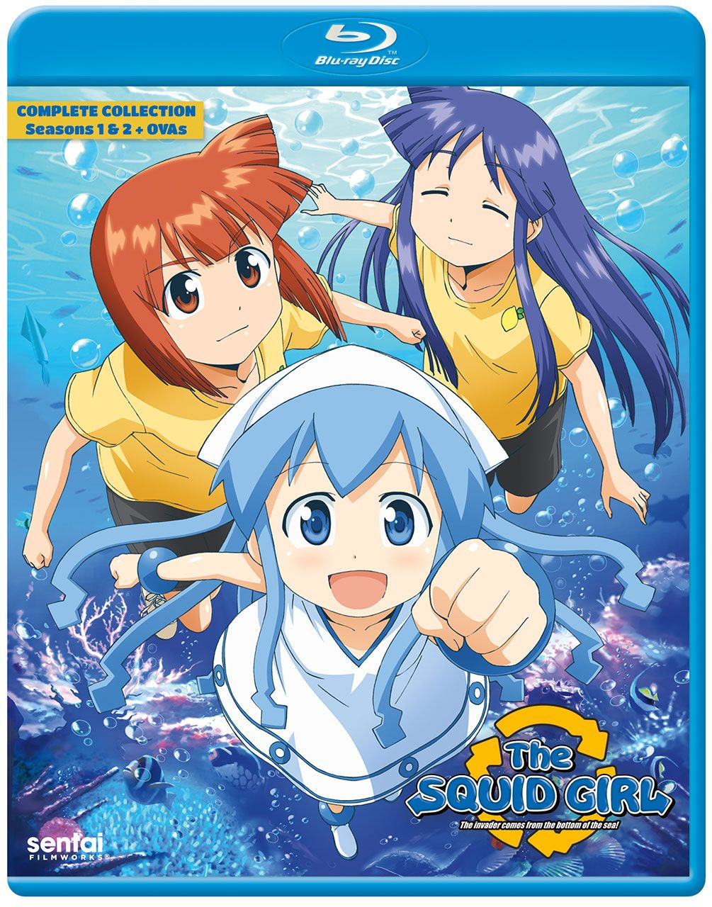 The Squid Girl Blu-Ray  Squid girl, Anime, Ika musume