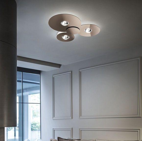 Laevalgusti Bugia 3x18w 4500lm Led 2700k Hektor Light Ceiling Light Design Italia Design Living Room Designs