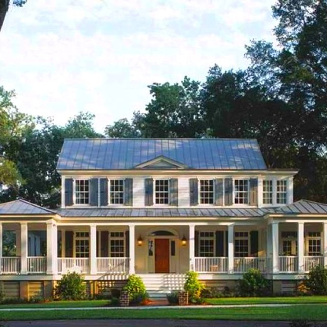 Large Front Porch Porch House Plans Country House Plans