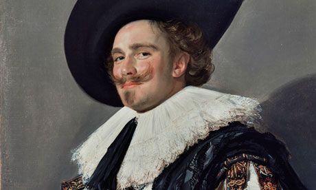 Nothing more unnerving than a bit of ubiquitous gaze from Frans Hals Laughing Cavalier.