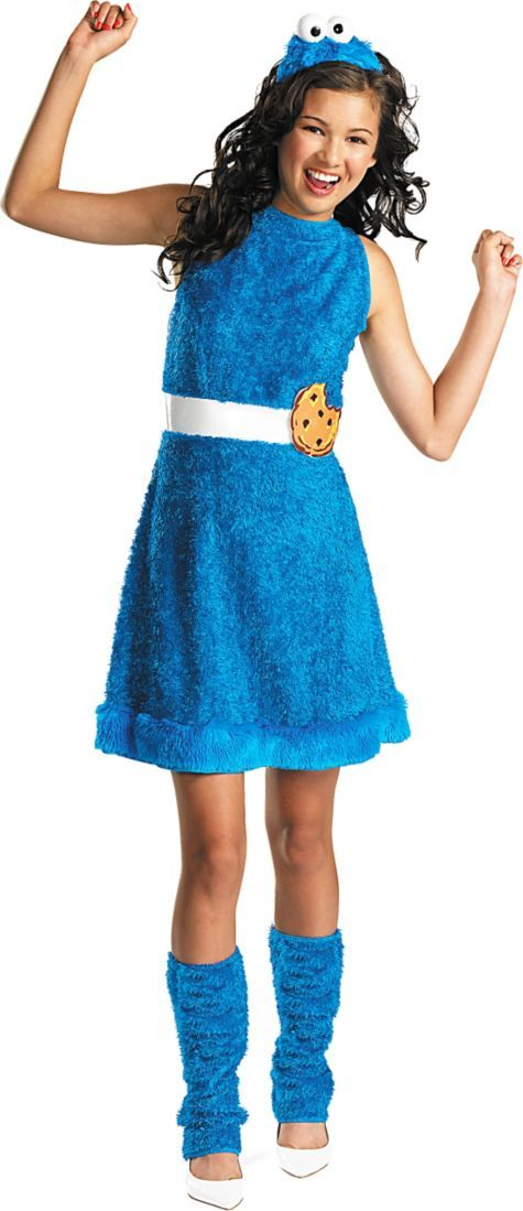 girls cookie monster costume party city this is my halloween costume - Halloween Costume Monster