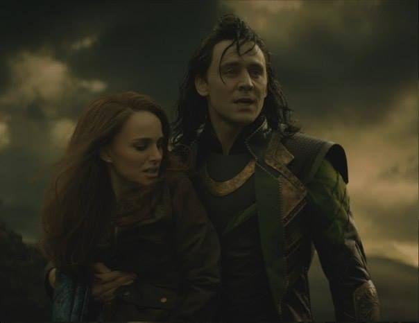 "Natalie is all, ""Take me now Loki."""