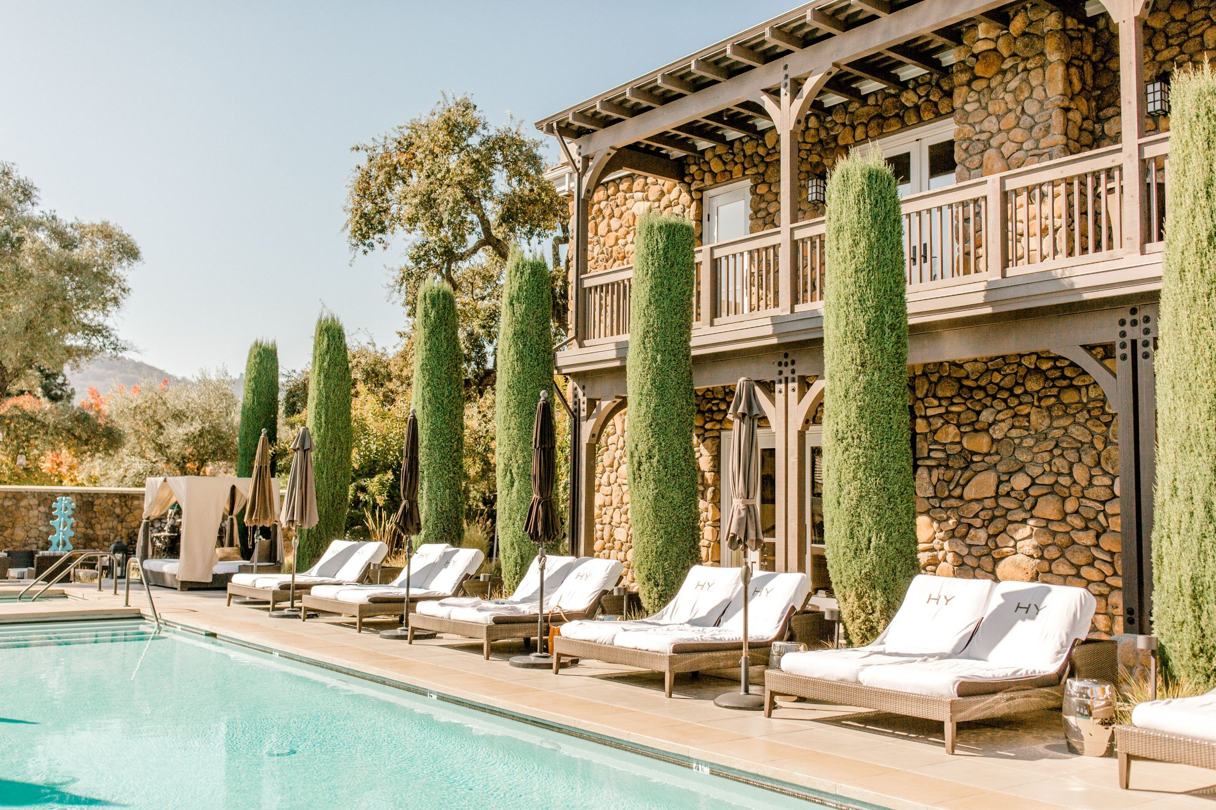 Dreamy Stay At Hotel Yountville Fancy Houses Explore Travel