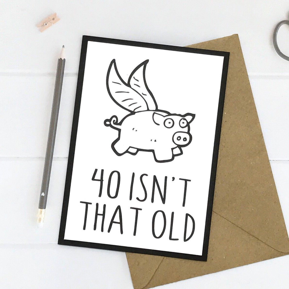 Excited To Share This Item From My Etsy Shop 40th Birthday Card Gift Cards Personalized Handmade