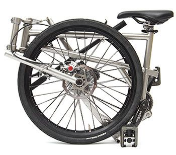 Helix Folding Bike Claims To Be The Worlds Lightest At 9 5kg And