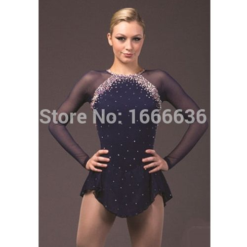 Adult Custom Figure Skating Dress Graceful New Brand Women Ice Skating Dresses For Competition DR3880