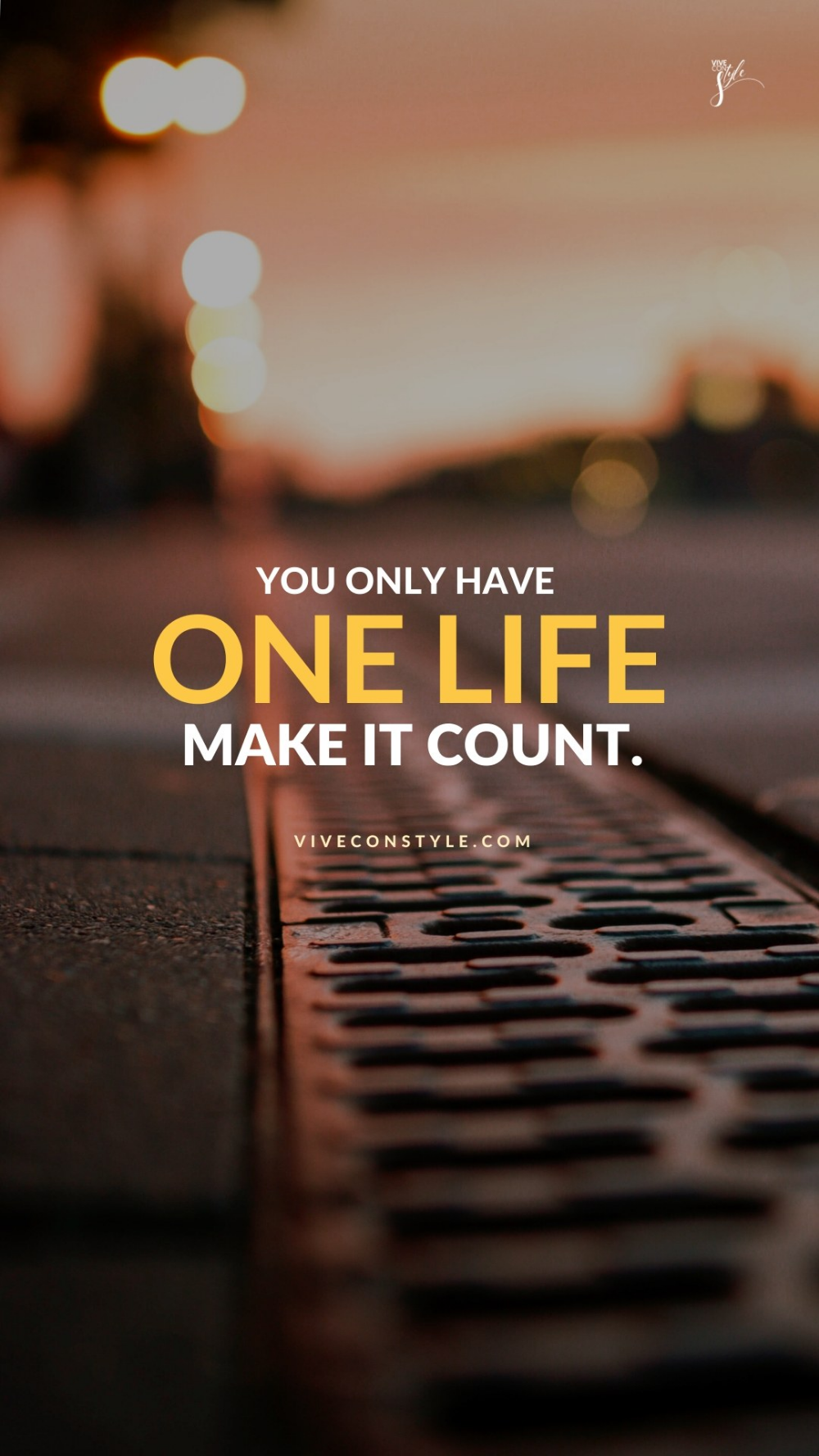 Make it count mobile wallpaper  Discipline quotes, Mobile