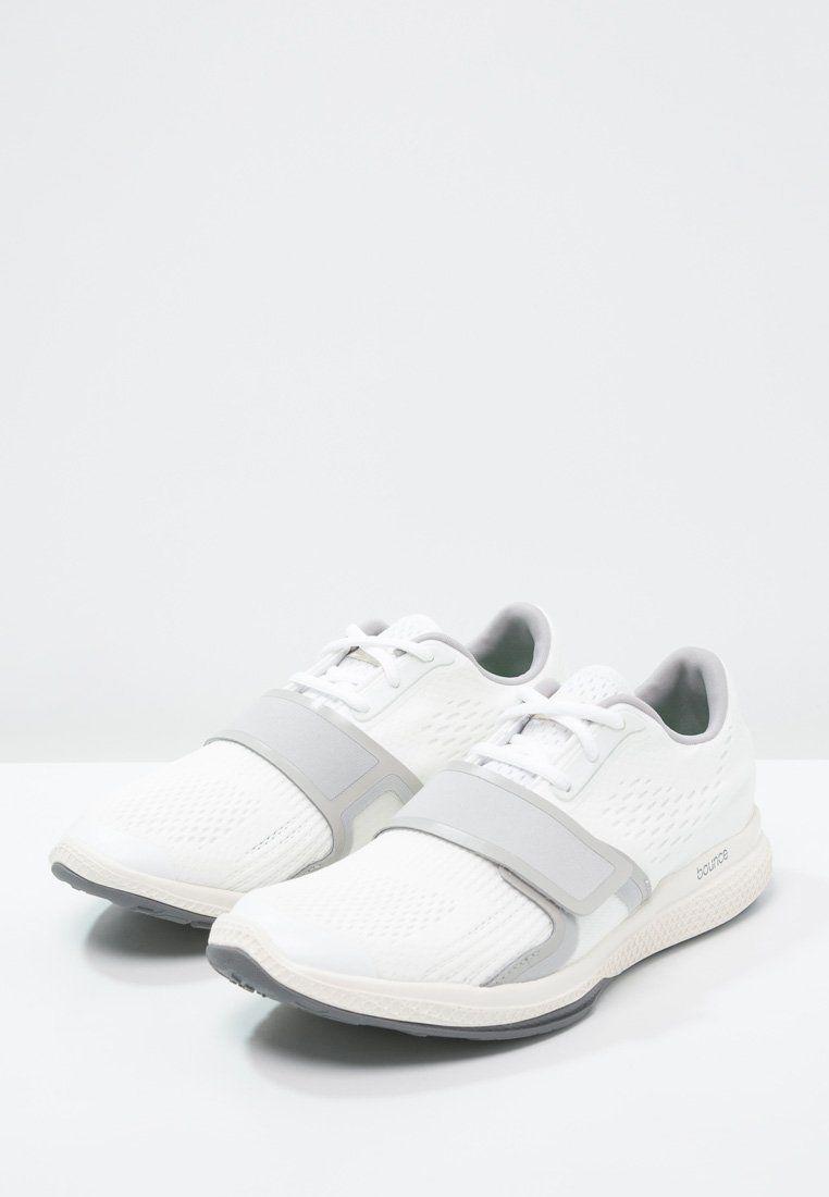 adidas by Stella McCartney ATANI BOUNCE - Trainers - white/white chalk/new  grey