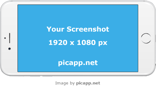 You don't know how to present your new iOS app to the world?  Well, Picapp.net has the solution for your problem. Picapp.net is an online tool with a large library of the latest frames. All you have to do is to choose what frame you like, upload your app screenshot and download the final image in your PC. The low resolution image can be downloaded for free.  #iphone6plus #nobackground #iphoneWhite #mock #iPhone