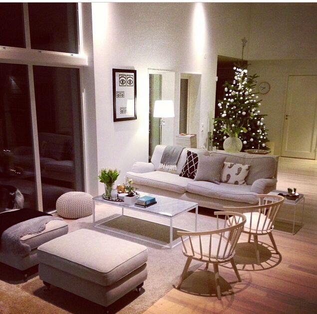 Inspo placering soffa f t lj vardagsrum pinterest for Living room inspo