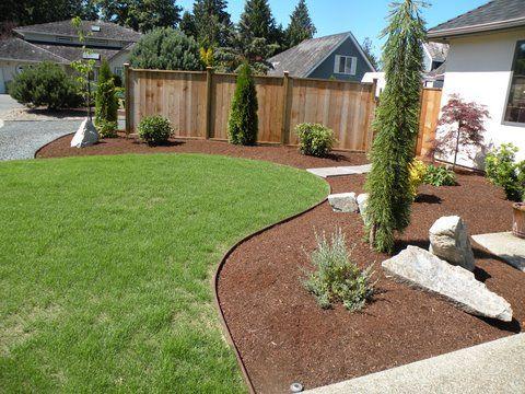 Edging Using Bender Board Front Yard Garden Design Garden Edging House Landscape