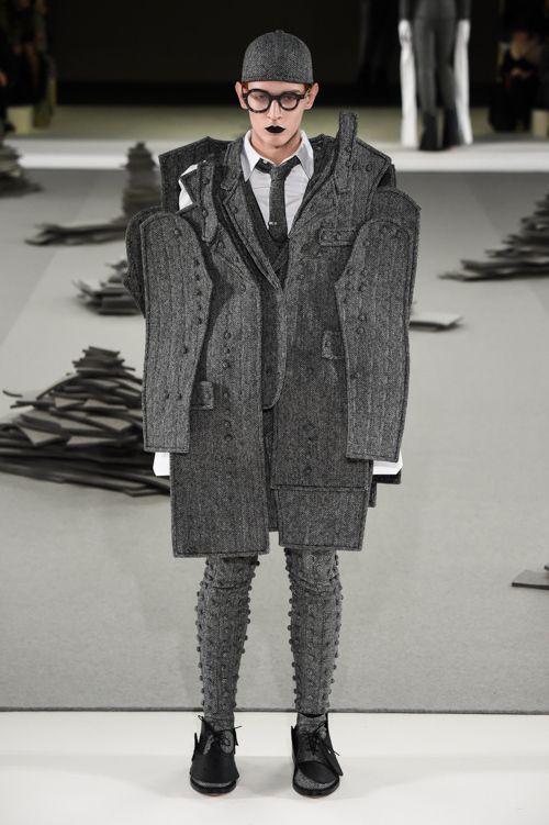 トム ブラウン ニューヨーク(THOM BROWNE. NEW YORK)2017-18年秋冬コレクション Gallery25 - ファッションプレス