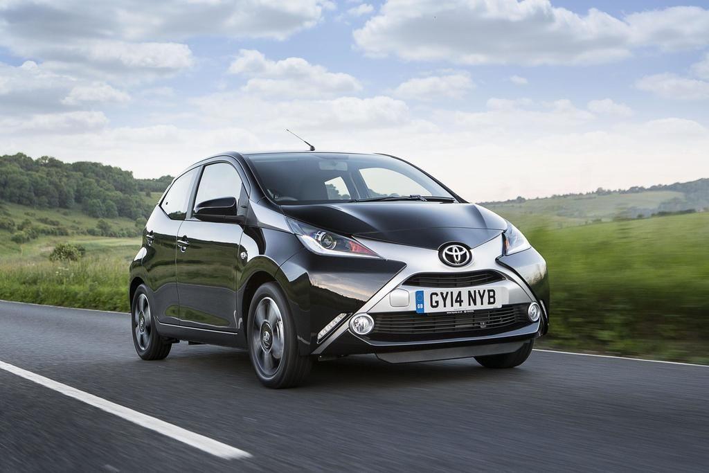 Toyota Aygo Toyota Yaris Get Toyota Safety Sense In The Uk