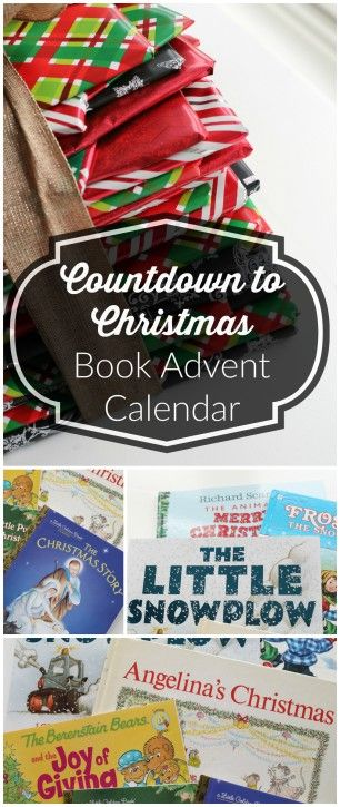 Countdown to Christmas Book Advent Calendar from The Cottage Mama