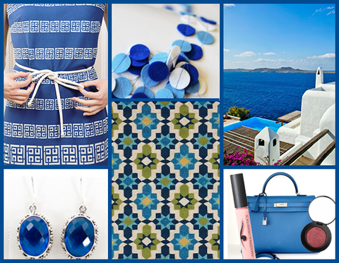 Fall Color Series: Spotlight on Mykonos Blue