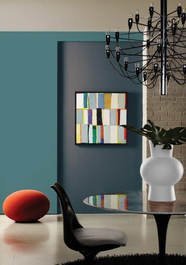 Wandfarben Kombinieren Komplementärfarben Kunterbunt Ideas
