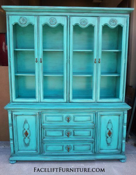 hutches, cabinets & buffets - painted, glazed & distressed