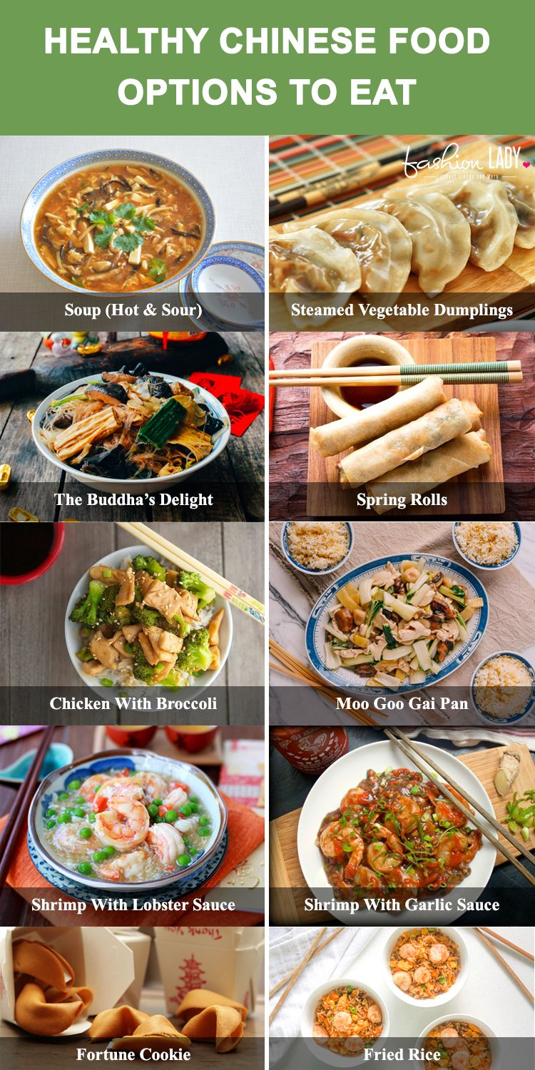 Healthy Chinese Food Options To Eat Healthy Chinese Recipes Healthy Chinese Food Options Chinese Food Calories