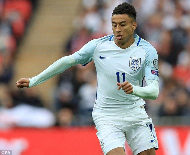 553527f1c Manchester United attacker Jesse Lingard needs to  kick on