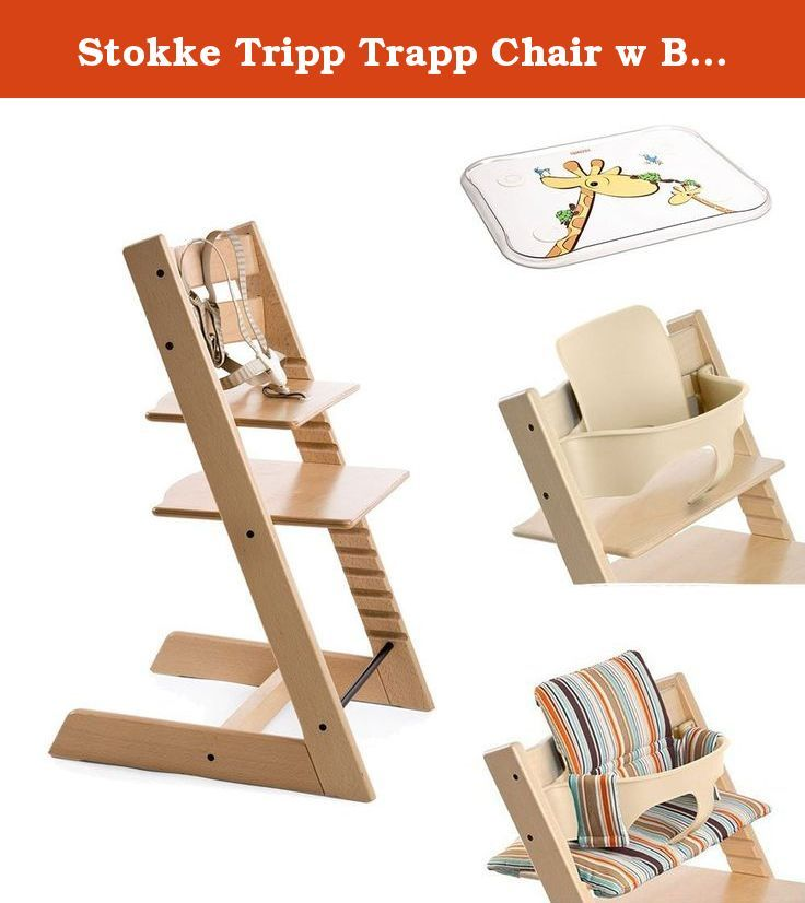 Stokke Tripp Trapp Chair w Baby Set, Stokke Table Top & Signature ...